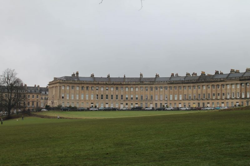 The Royal Crescent, em Bath