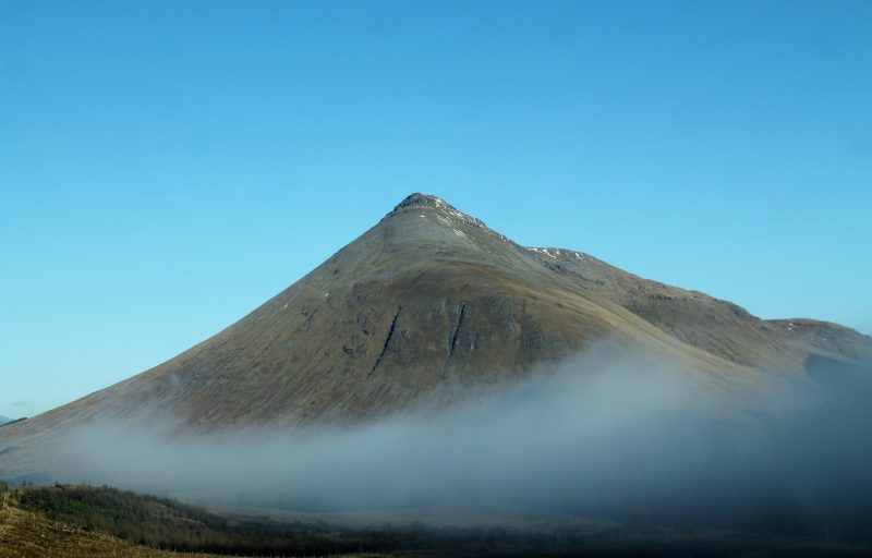 A paisagem dramática das Highlands, na Escócia
