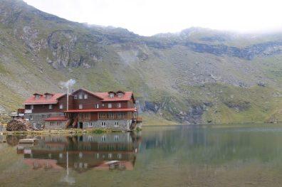 Balea Lac, na Transfagarasan