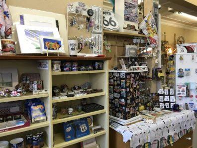 Amarillo´s Route 66, Amarillo - loja de souvenir na Rota 66