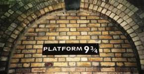 A Londra sulle tracce di Harry Potter, il binario 9 e 3/4
