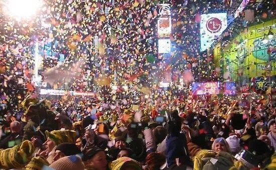 Capodanno a Times Square, New York si prepara