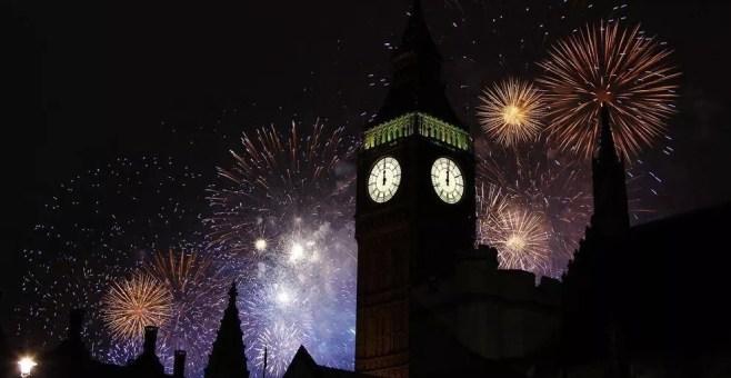 Capodanno a Londra a Trafalgar Square
