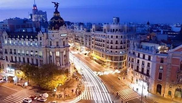 Madrid, la città che vive di notte