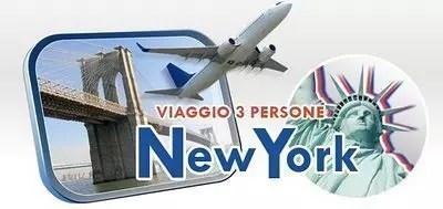 Vinci un viaggio a New York con gli amici