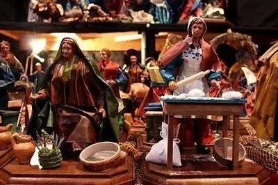 Presepi di Natale nel Salento