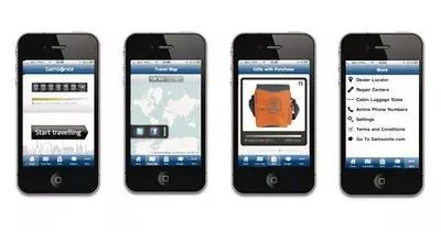App Samsonite: Travel Miles