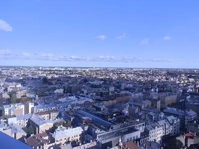 Skyline, vedere Riga dall'alto