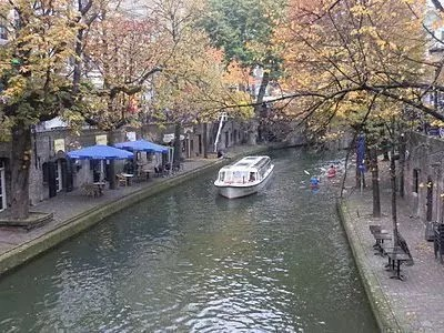 Un giro in battello in Olanda