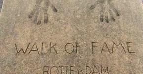 Walk of Fame: camminare tra le star a Rotterdam