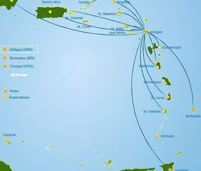 Liat, compagnia low cost per i Caraibi