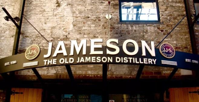 Old Jameson Distillery a Dublino