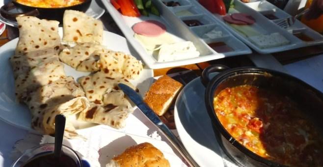 Kahvaltı: la colazione turca al Pierre Loti