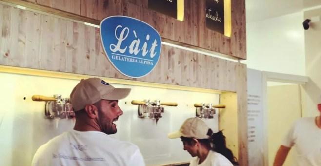 Lait Rimini, il gelato di Eataly in Romagna