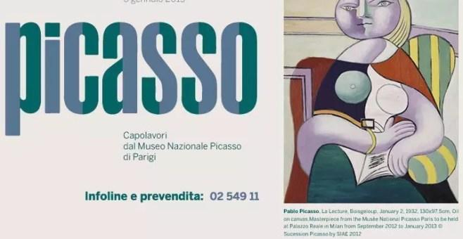 Picasso in mostra a Milano da settembre 2012