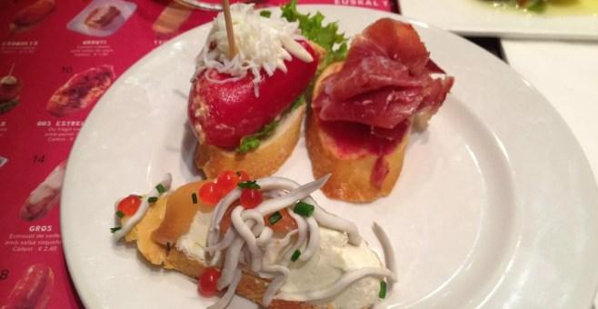 Txapela, dove mangiare pinchos a Barcellona