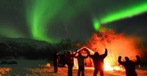 Vedere l'Aurora Boreale dall'Aurora Sky Station