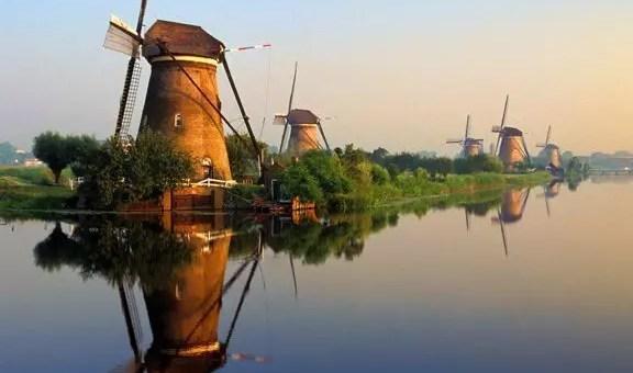 I mulini di Kinderdijk, cosa vedere in Olanda
