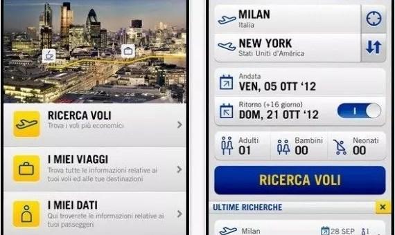 L'app di eDreams per voli e destinazioni