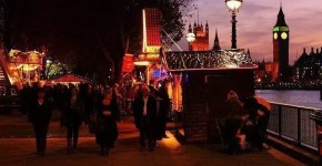 Mercatini di Natale a Londra: Southbank Christmas Market