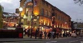 Camden Town a Londra a Natale e i Camden Market