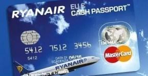 Cash Passport Ryanair, dal 1° dicembre 2012 non varrà più