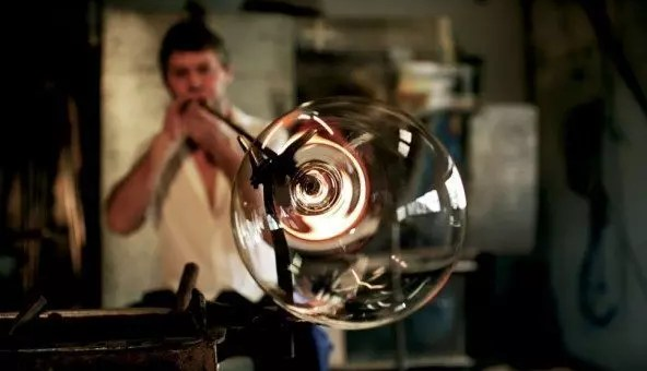 Christmas open house al London Glassblowing Studio: l'arte vetraria a Londra