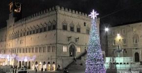 Mercatini di Natale a Perugia: pista di ghiaccio e ruota panoramica