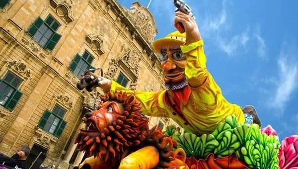 Carnevale di Malta, 5 giorni di follia