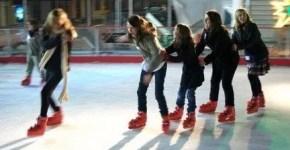 Pattinare sul ghiaccio a Roma low cost