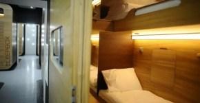 Sleepbox Hotel in Russia, gli hotel capsula