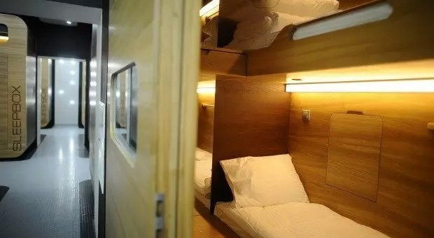 Sleepbox Hotel in Russia, gli hotel capsula
