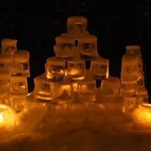 Festival delle 1000 lanterne di ghiaccio in Lapponia, Vuollerim