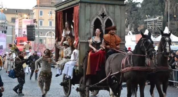 Carnevale Romano a Roma dal 2 al 12 febbraio 2013