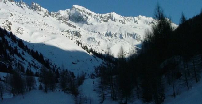 Un piccolo paradiso a Kasern, proprio in cima all'Italia