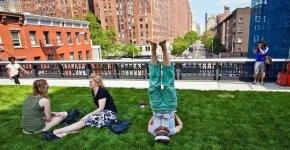 High Line Park, un parco sulla ferrovia a New York