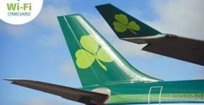 Da giugno Aer Lingus offre il wifi grazie a Eutelsat