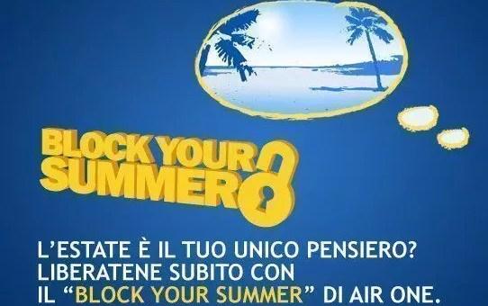 Block your summer con AirOne, estate 2013 a 15€