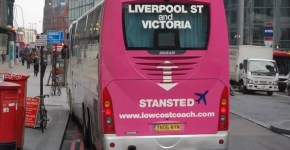 London Stansted aeroporto fino a Liverpool Street con 6£