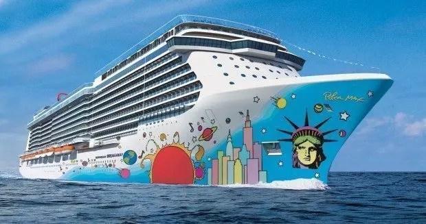 Breakaway, nave da crociera e pop art