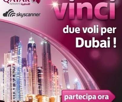 Voli per Dubai con il concorso di Skyscanner