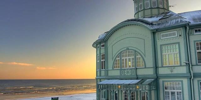 Jurmala, cittadina lettone sul mare