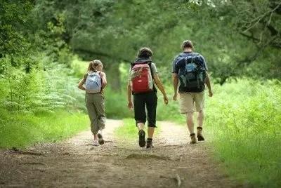 Trekking sui binari tra valli e boschi