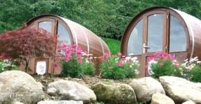 Dormire nelle botti a Sasbachwalden, nella Foresta Nera
