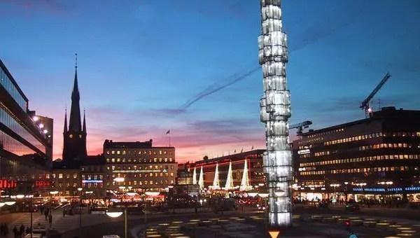 Sergels Torg a Stoccolma, la piazza nuova