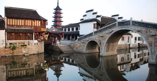 Zhujiajiao, Shanghai, il villaggio sull'acqua