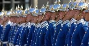 Cambio della Guardia a Stoccolma al Palazzo Reale