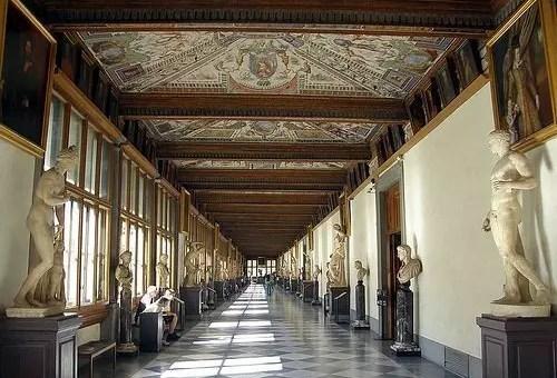 Galleria degli Uffizi a Firenze