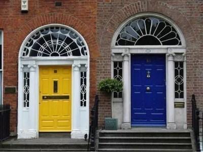porte colorate dublino