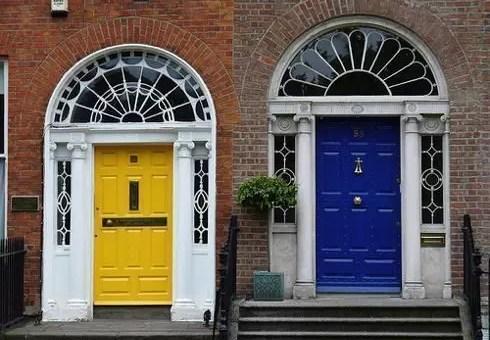 Le porte colorate di Dublino